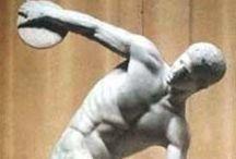 A. Las técnicas escultóricas / descripción de dos obras mediante 2 tecnicas