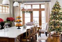 Holiday Decor / All the inspiration you need to decorate your home this holiday season. We've collected the most fun and beautiful decorating ideas on Pinterest - including some great, cheap DIY hacks!