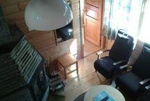 Rinnemökit 3 ja 11, rinnemökki cabin 3 and 11 / Rinnemökki 92 m2. Numerot 3 ja 11. 8 henkilöä. Rinnemökki cabin 92 m2. Numbers 3 and 11. 8 persons.