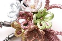 Kumihimo, Japanese Braiding / Classy fashion accessories and exotic room decoration items. Kumihimo - Japanese Braids Collection available @artezanatostudio.com.