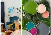Bold & Beautiful / These bold color schemes shout style.