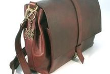 BRIEFCASE, MESSENGER & CO / leather bags..