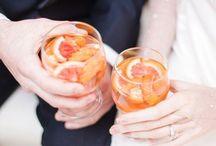 Pretty little Wedding Cocktails