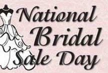 National Bridal Day Sale / National Bridal Day Sale! Up to 90% off discontinued designer bridal gowns above $1500.00! (base price $150.00) - All in stock Prom & Homecoming $75.00 - All Sales final - Appt. suggested-Sale runs July 11-17th - The Exquisite Bride Gibsonia  (724-443-0400)& Murrysville (724-327-4337)