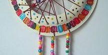 Indianen / knutselen DIY:  dromenvangers, vuurtjes, stokken, tipis, mooie handwerkjes