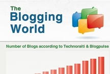 Blogging / Blogging and blogs, collection of infographics and links