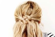 Hair / Simple hair tutorials and lots of cute braids that I will probably never master.