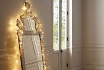 lights / 憧れる飾り方。小さな光が沢山あるというのが好き。