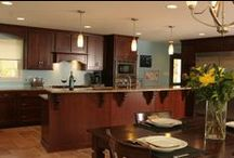 Kitchen in Peters Township, PA / A growing family needed more space in a kitchen that was cramped and not laid out well any longer.