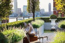 Patio, balcony & roofgarden inspiration / Inspiratie voor patio, balkon en dakterras