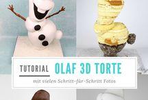 Cake Decorating Tutorials - Anleitungen für Tortendeko / Helpful tutorials for cake decorating, cookies, cake pops,... Hilfreiche Anleitungen für Tortendeko, Kekse, Cake Pops, usw.