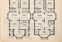 Beautiful homes - floor plans