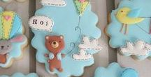 Decorated Cookies - verzierte Kekse / A collection of beautiful decorated cookies.