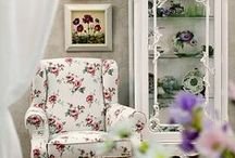 Provence style / Прованс / Furniture and decor in elegant Provence style. French collections