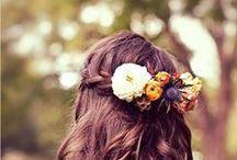 Couronne de fleurs