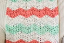 Crochet Blankets / Crochet patterns and ideas for blankets, throws, and afghans.