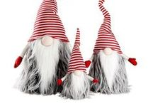 christmas angels, elves and gnomes