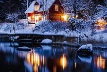 Lights In The Snow.