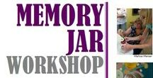 Memory Jar Workshop with Melissa Menzer 2017 / Join award winning artist Melissa Menzer and folk art expert Jeanine Taylor for a learning experience and hands-on Memory Jar workshop. Explore with us the rich history of Memory Jars and begin creating a clay figure to top your Memory Jar. With a person, event, or theme in mind, you provide the mementos for inside the jar or use Melissa's stash. Your finished project will be ready to take home at the end of the workshop.