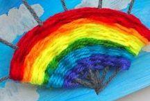 Children: Arts & Crafts / Malen, basteln, bastelideen für Kinder, Kneten, Spielideen, Kreativ, Arts & Crafts, drawing, painting, cutting, Nestling.org