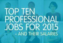 Ajilon's Salary Guide / by Ajilon Professional Staffing