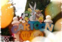 Cartoon Village / Vuelve a sentirte un autentico niño en nuestra zona Cartoon, donde los mas pequeños serán los protagonistas de cientos de aventuras.