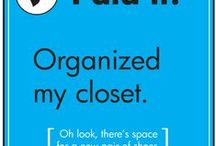 Organizing humor / Organizing humor and celebrating life's small daily triumphs!