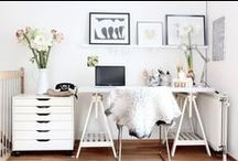 Workspace inspiration / Desks, storage solutions, and layouts: inspiration for making your workspace function efficiently and look great