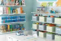 Playroom / Toys, books, games, and fun! How to keep everything functional and aesthetically beautiful