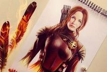 Hunger Games Official/Fan Art / by Blondie