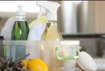Clean Home / Products that you can use or make that will make you house clean and smell fabulous without using harsh ingrediants.
