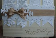 Christmas cards & tags DIY
