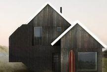mökki (cabin): outside