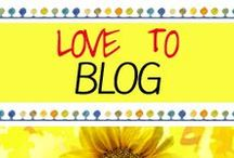 Blogging Tips / Ideas / This Board is for Blogging Tips and Ideas! I LOVE to Blog, don't you?