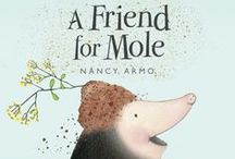Dig Into Fun with Mole & Wolf / http://peachtree-online.com/pdfs/FriendforMoleEventKit.pdf
