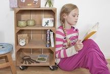 Crates as Furniture
