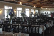 Ballard's Inn Weddings / Pictures of set-ups for weddings at Ballard's Inn on Block Island