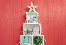 Christmas Crates / Here's some ideas for using our stunning personalised crates this Christmas