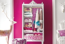 Girls' Room Re-Do / Getting 4 girls, ages newborn to 8 years old, into one room. 'Nuff said. / by Jennifer Penar
