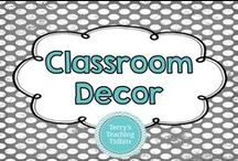 Classroom Decor / This board contains ideas for cute classroom decorations.