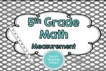 5th Grade Math - Measurement and Data / This board contains ideas, resources, and activities for measurement and data for 5th grade math.