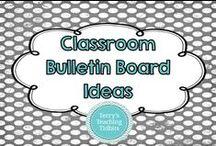Classroom Bulletin Board Ideas / This board is for cute bulletin board ideas for my classroom.