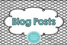 Blog Posts / This board is dedicated to fun blog posts from myself and other teachers with great  ideas for the classroom.