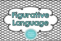 Figurative Language / This board is for ideas for teaching figurative language.