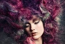Hiuksia / Beautiful hairstyles, hairdos and all kinds of things around hair