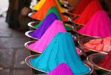 Happy Holi Hai !! ~ / Holi, the Festival of Colors होली रंगों का त्योहार  / by HR Krishnaraj ॐ
