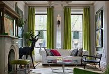 Drapery and Blinds / Beautiful colors, creative ideas, soft light and living rooms.