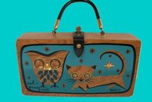 Enid Collins-purses made fun. / A Tribute to Vintage purses by Enid Collins of Texas. / by Kathleen