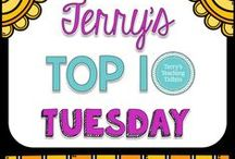 """Terry's Top 10 Tuesday / This board is for my new blog series, """"Terry's Top 10 Tuesday"""".  I will be pinning my posts on this series to this board."""