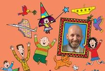Nick Sharratt - illustration and furniture / Some of Nick Sharratt's best illustrations including his work with Jacqueline Wilson, and furniture from Peters Books & Furniture's official Nick Sharratt range